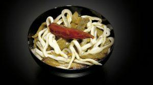 Cassolette de gulas et champignons